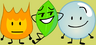 Firey, Leafy and Bubble 10
