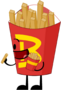 Fries Pose Cannibal