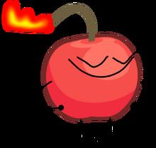 Cherry bomb aka cherry joke aka trick cherry