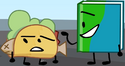 Taco and Book became friends (BFB 16) 2