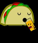 Taco drinks O.J