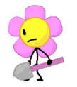 Flower holding shovel 2