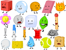 BFDI CAST REAL
