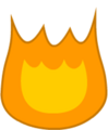Giant Firey Body