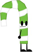 Green Candy Cane Pose
