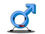 Male symbole