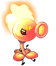 Fire Peashooter(Pose)