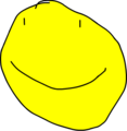 Yellow Face Smile 1
