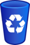 Recycling Fin