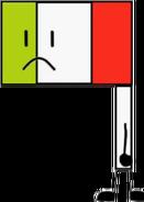 Flag (OF Pose)