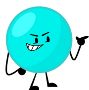 Cyan Ball new pose