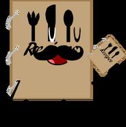 Recipe Book pose