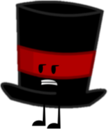 Dark Red Top Hat New Pose