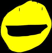 Yellow Face Pose