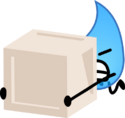 Teardrop lifting a crate