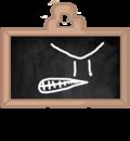 Blackboard's pose 3