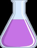 Pink Liquid in Flask
