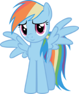 Rainbow Dash Pose