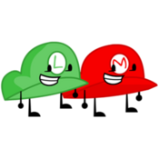 250px-Mario and Luigi Hat