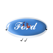 Ford Logo Official Pose