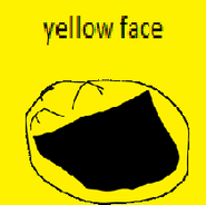 Yellow face icon
