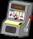 Brand New Slot Machine Pose