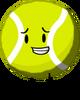 Tennisball with shadow