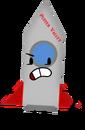 Rocket Pose (Pufferfishmax)