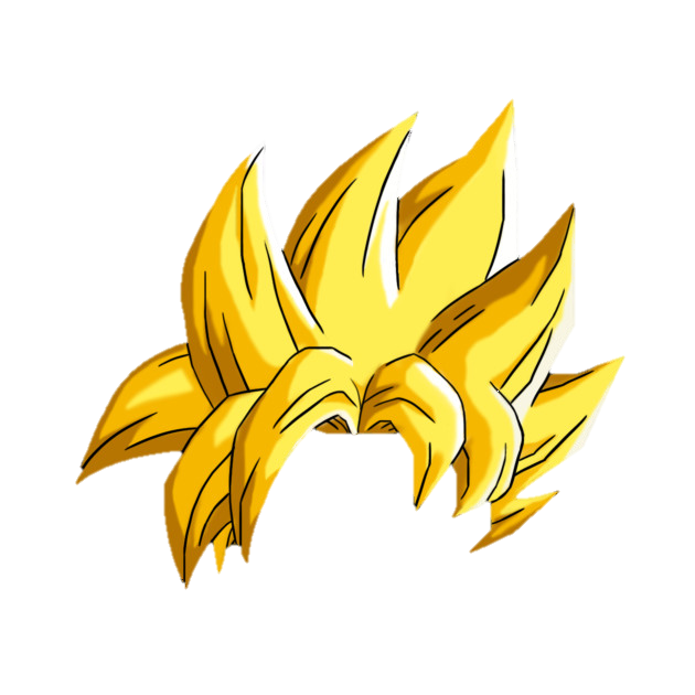 image saiyan hair png object shows community fandom powered by