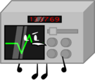 Oscilloscope pose