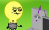 Lightbulb asking for Pizza