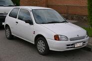 1999 Toyota Starlet (EP91R) Life 3-door hatchback (2015-07-03) 01