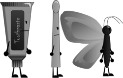 Metal TP, D-stick & Butterfly