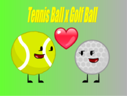 Tennis Ball x Golf Ball