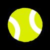 Tennis Ball Stock