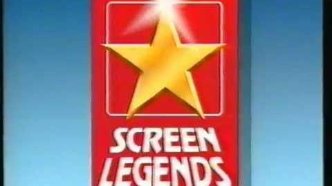 Screen Legends (1986) VHS UK Logo