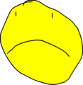 Yellow Face Frown Talk0001