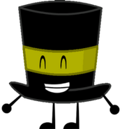 Dark Yellow Top Hat New Pose