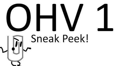 OHV 1 SNEAK PEEK!