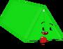 Tent Pose