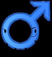 Male Symbol (RC Camp Pose)