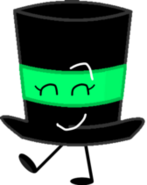 Emerald Top Hat Voting Pose