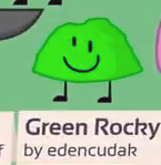Green Rocky in BFB 2