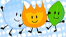 Firey, Leafy and Bubble 8