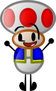 Toad Season 2 Pose