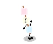 Marshmallow Stick the BFDI Firey