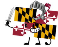 Maryland Flag Pose