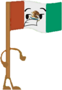Mexico Flag (OPR Pose)