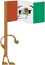 Mexico Flag (OPR Pose)
