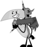 Grim Reaper's Staff's pose